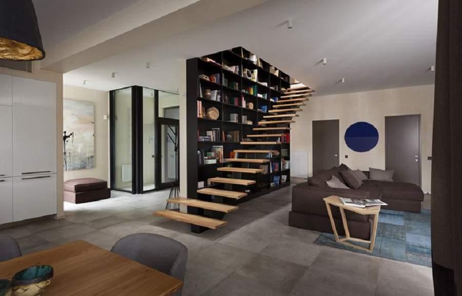 Cầu thang đẹp cho nhà ống gia chủ nên thiết kế