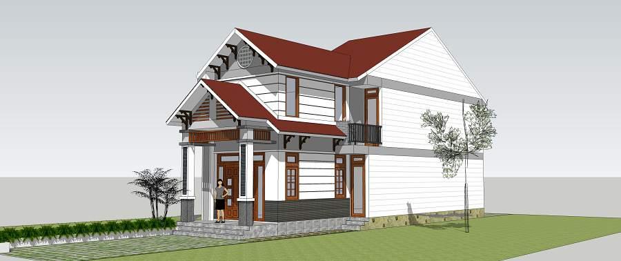 màu sơn nhà đẹp nhất hiện nay hiện đại, ưng ý