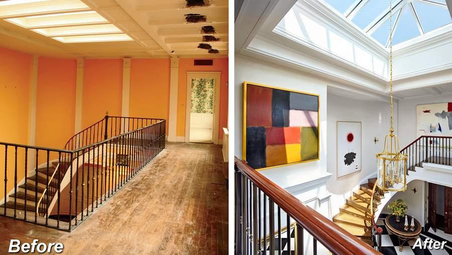 Mẫu tay vịn cầu thang gỗ đẹp hiện đại cho nhà thêm xinh