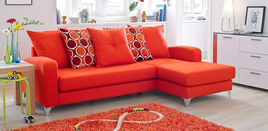 Mẫu thiết kế nội thất phòng khách cho người mệnh hỏa