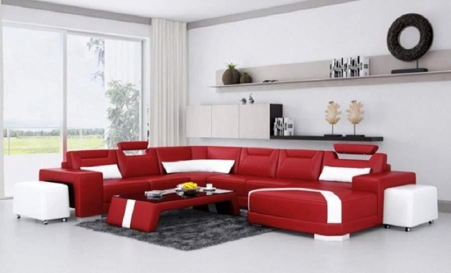 Mẫu thiết kế nội thất phòng khách cho người mệnh hỏa rất đẹp