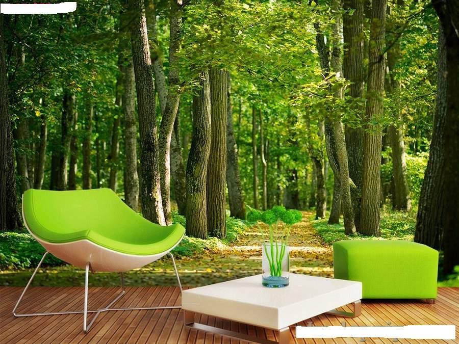 mẫu thiết kế nội thất phòng khách cho người mệnh mộc đơn giản nhưng rất đẹp