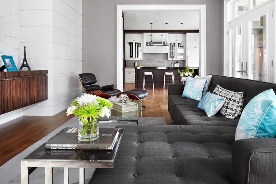 Nhà vườn 1 tầng 5 phòng ngủ với những món đồ nội thất đa năng