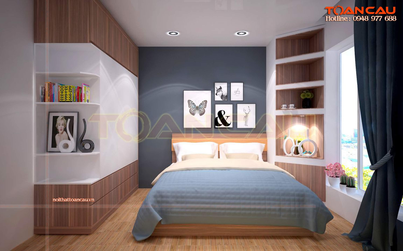 tranh treo đầu giường ngủ hiện đại