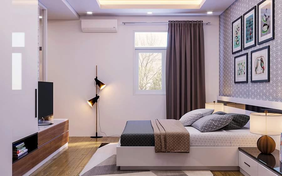 Những mẫu tranh treo phòng ngủ phong thủy