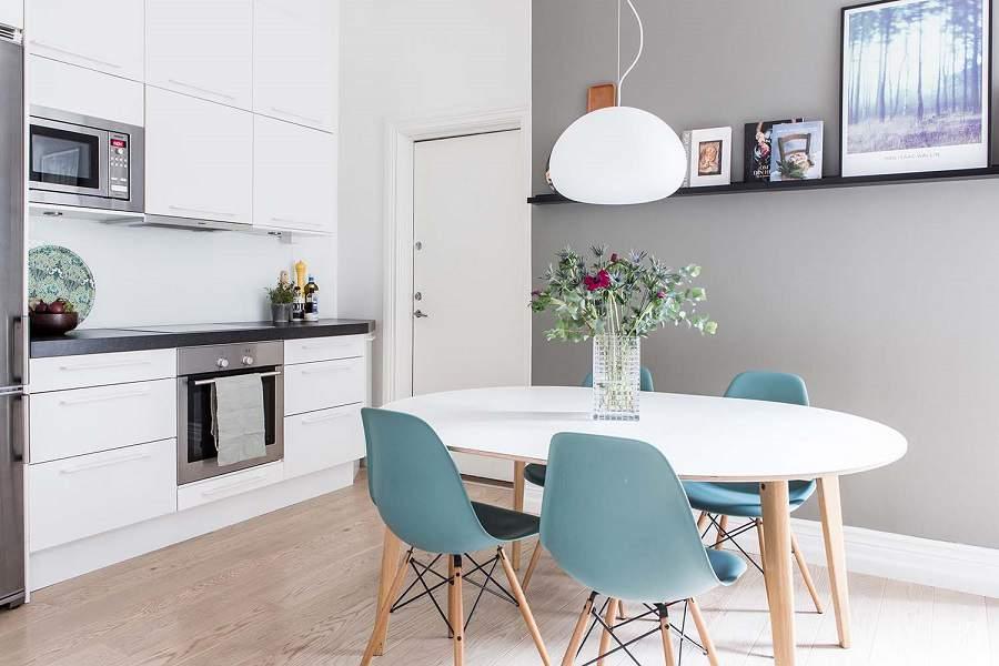 thiết kế những mẫu nhà ống 2 tầng đẹp cho phòng bếp