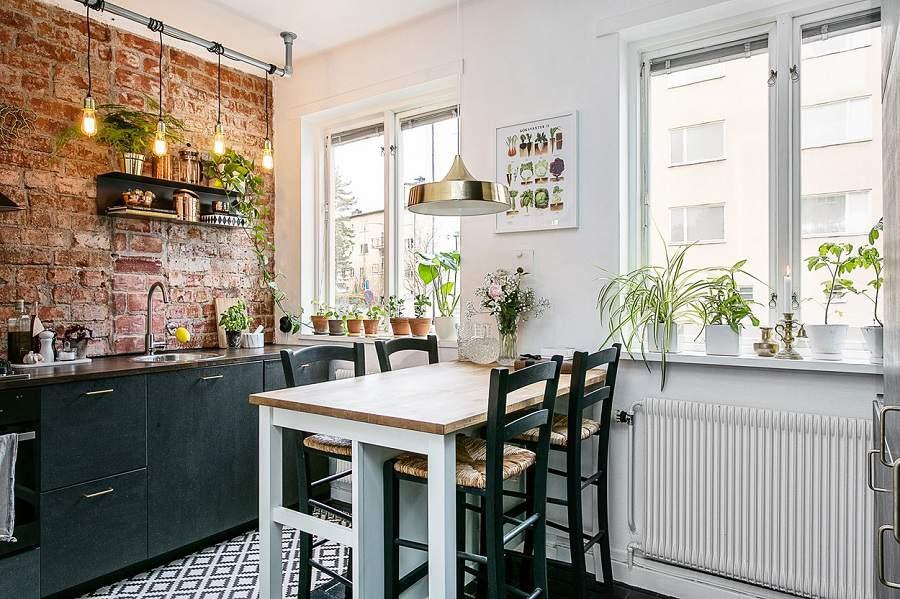 căn phòng bếp nhà siêu nhỏ đẹp