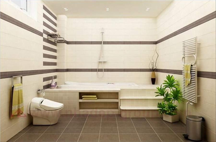 Những nguyên tắc khi thiết kế nhà vệ sinh