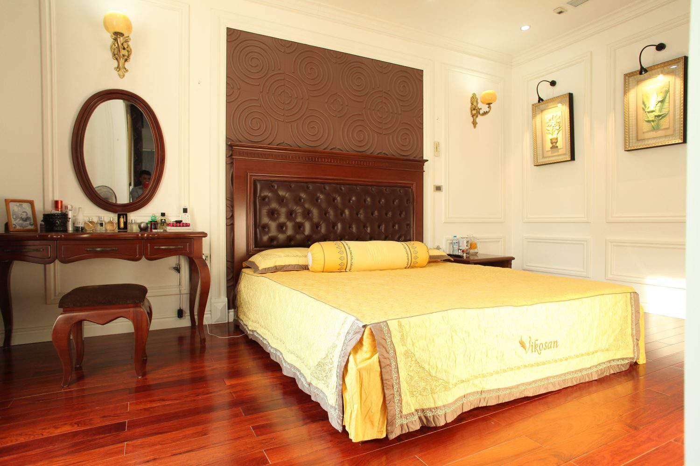 thiết kế phòng ngủ hiện đại cuốn hút