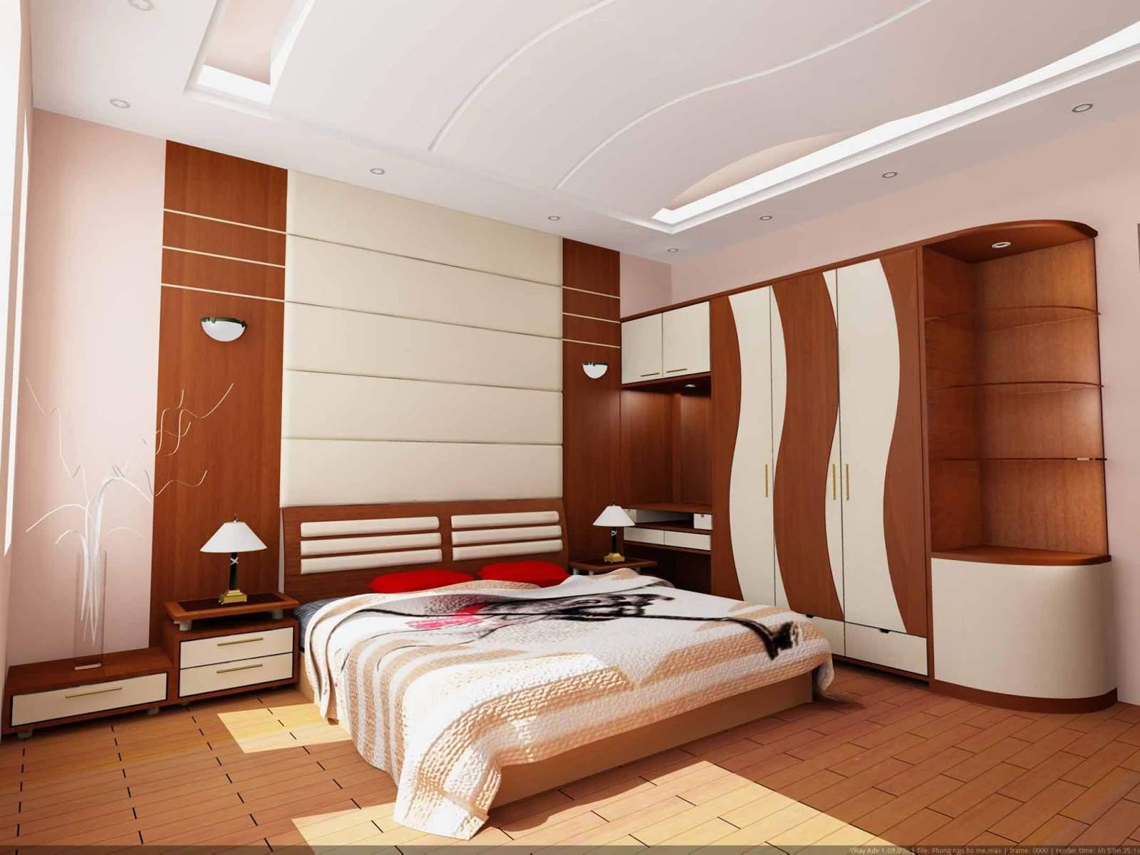 những thiết kế phòng ngủ đẹp nhất cho nhà hiện đại