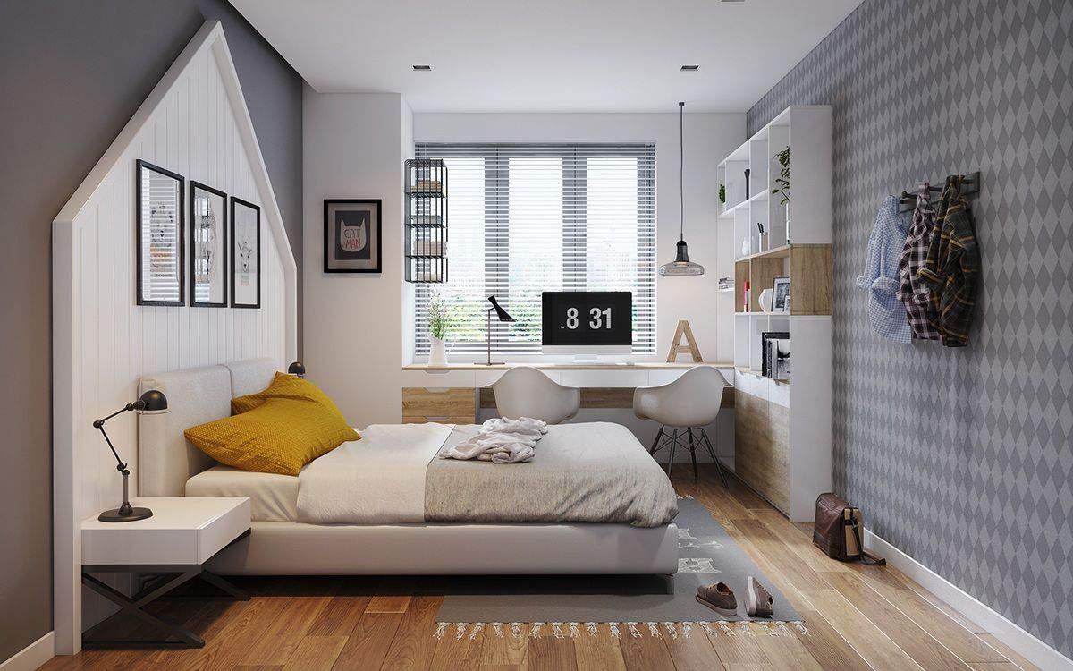 những món đồ nội thất tiện nghi luôn được bài trí trong phòng ngủ