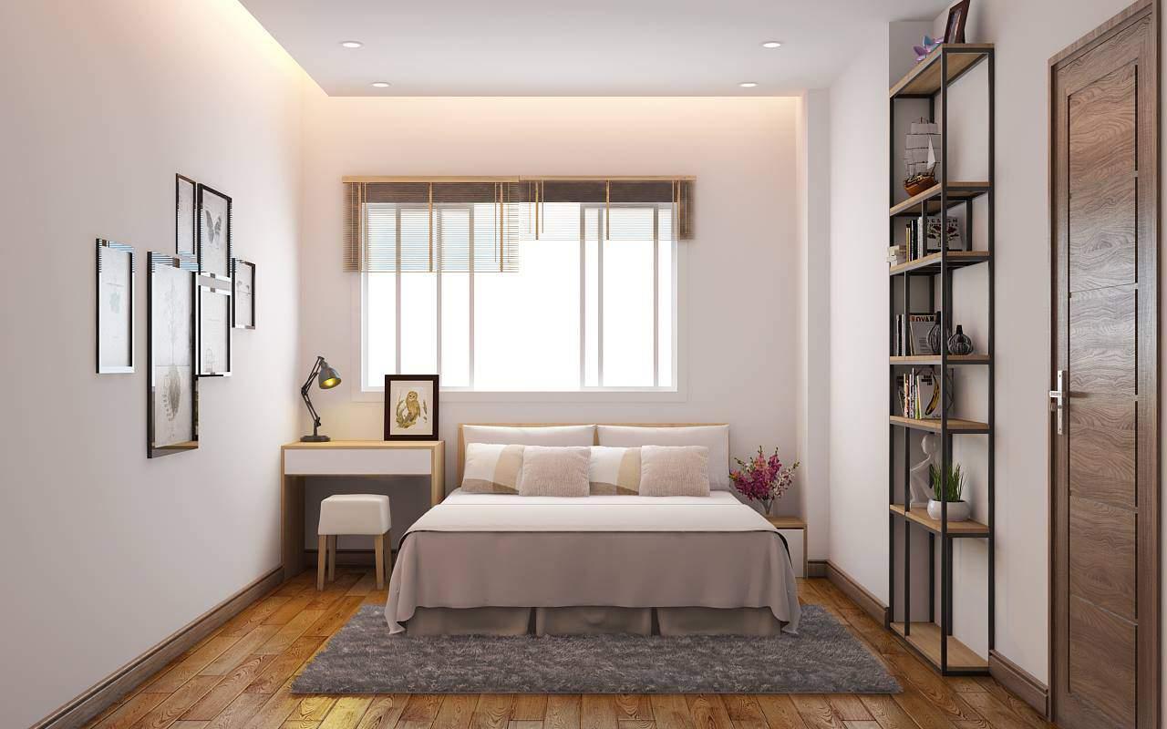 thiết kế phòng ngủ đơn giản mà đẹp