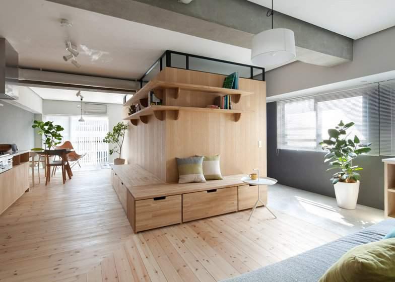thiết kế thông minh cho căn hộ nhỏ hiện đại