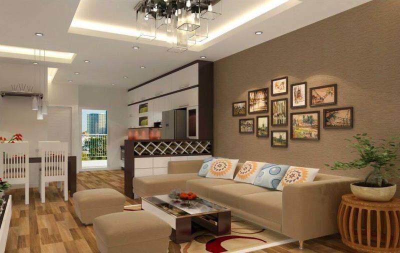 thiết kế nội thất cho căn hộ nhỏ tinh tế