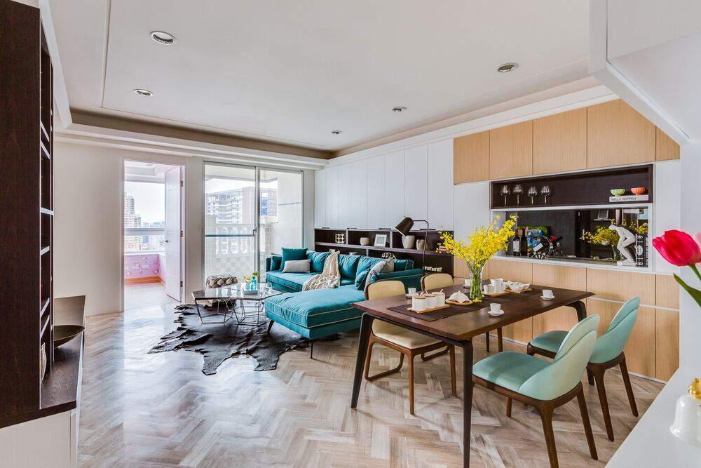 thiết kế căn hộ diện tích nhỏ sang trọng