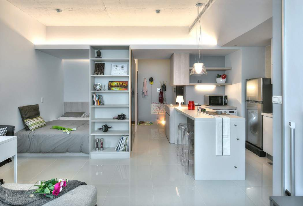 thiết kế nội thất chung cư 60m2 hiện đại