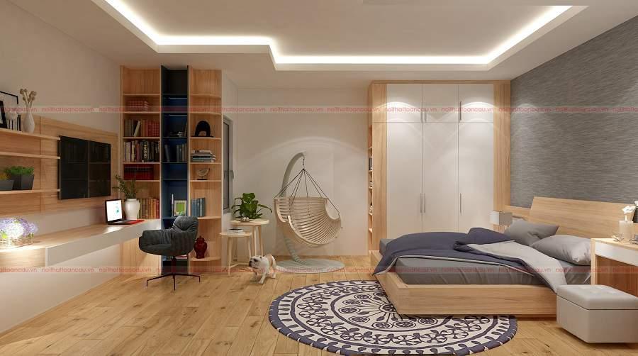 cách chọn mua giường gỗ