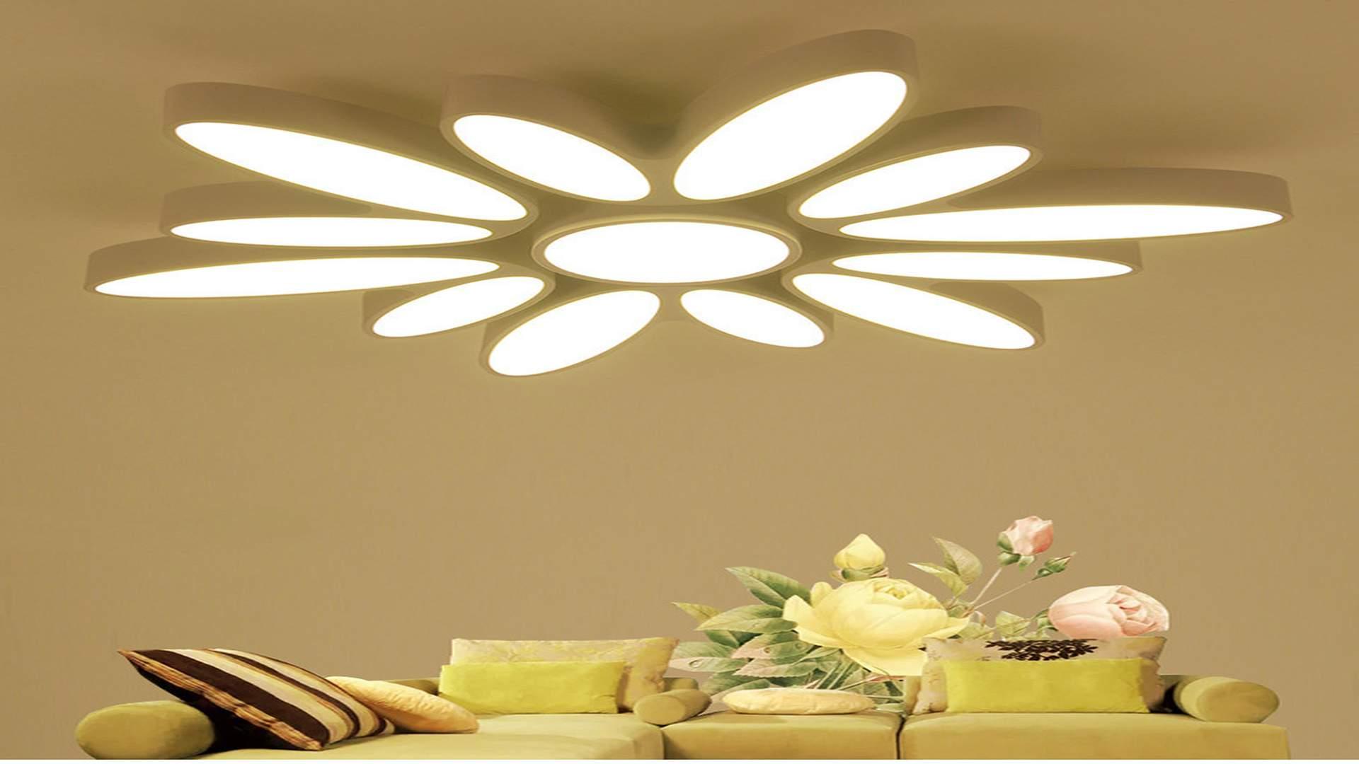 đèn trang trí trần nhà cho phòng đẹp hơn