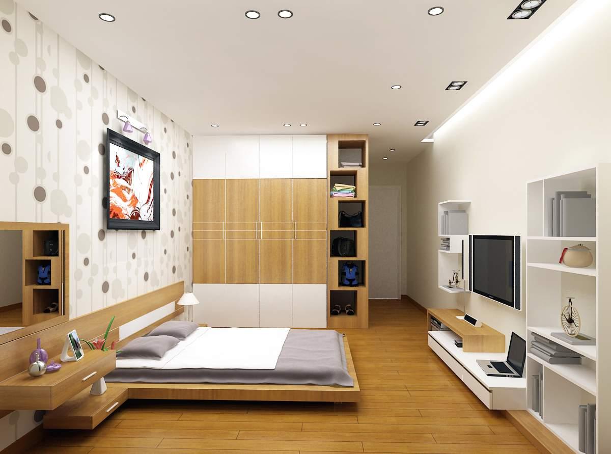phong cách thiết kế nội thất hiện đại cho phòng ngủ
