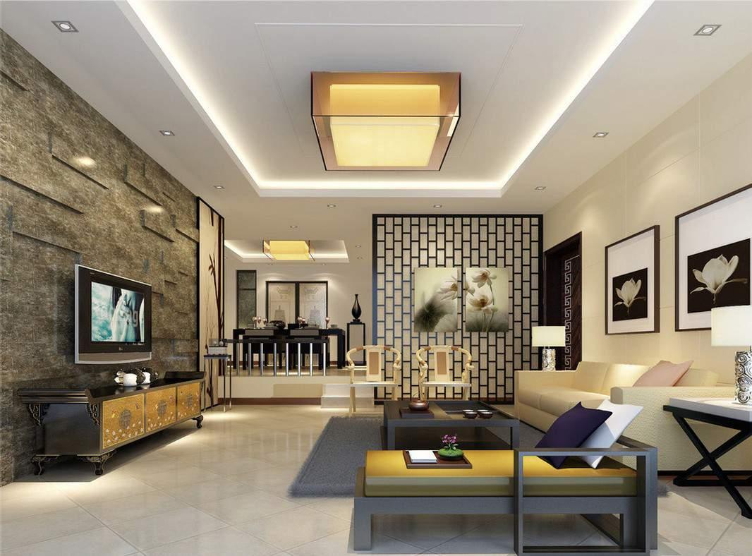 phong cách thiết kế nội thất hiện đại với màu trầm