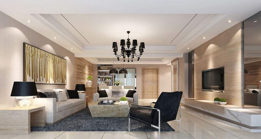 nội thất phòng khách đẹp hiện đại hiện đại