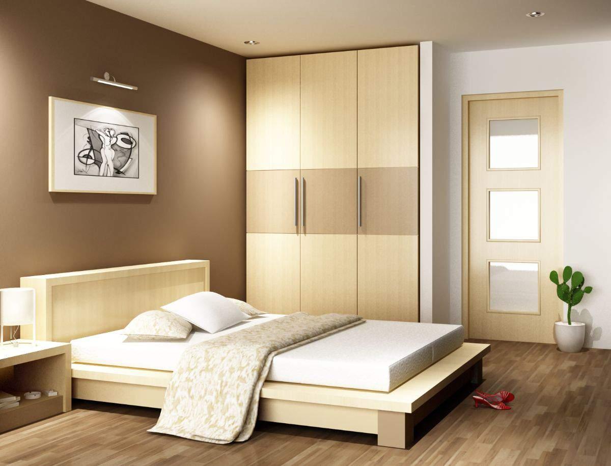 Phòng ngủ với tông trắng hiện đại