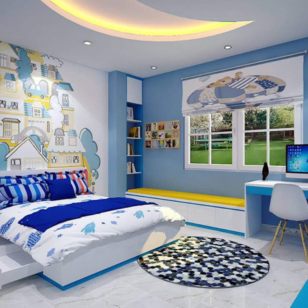 Nội thất phù hợp với diện tích phòng ngủ