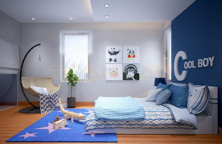 Thiết kế chung cư 100m2 3 phòng ngủ đẹp nhất