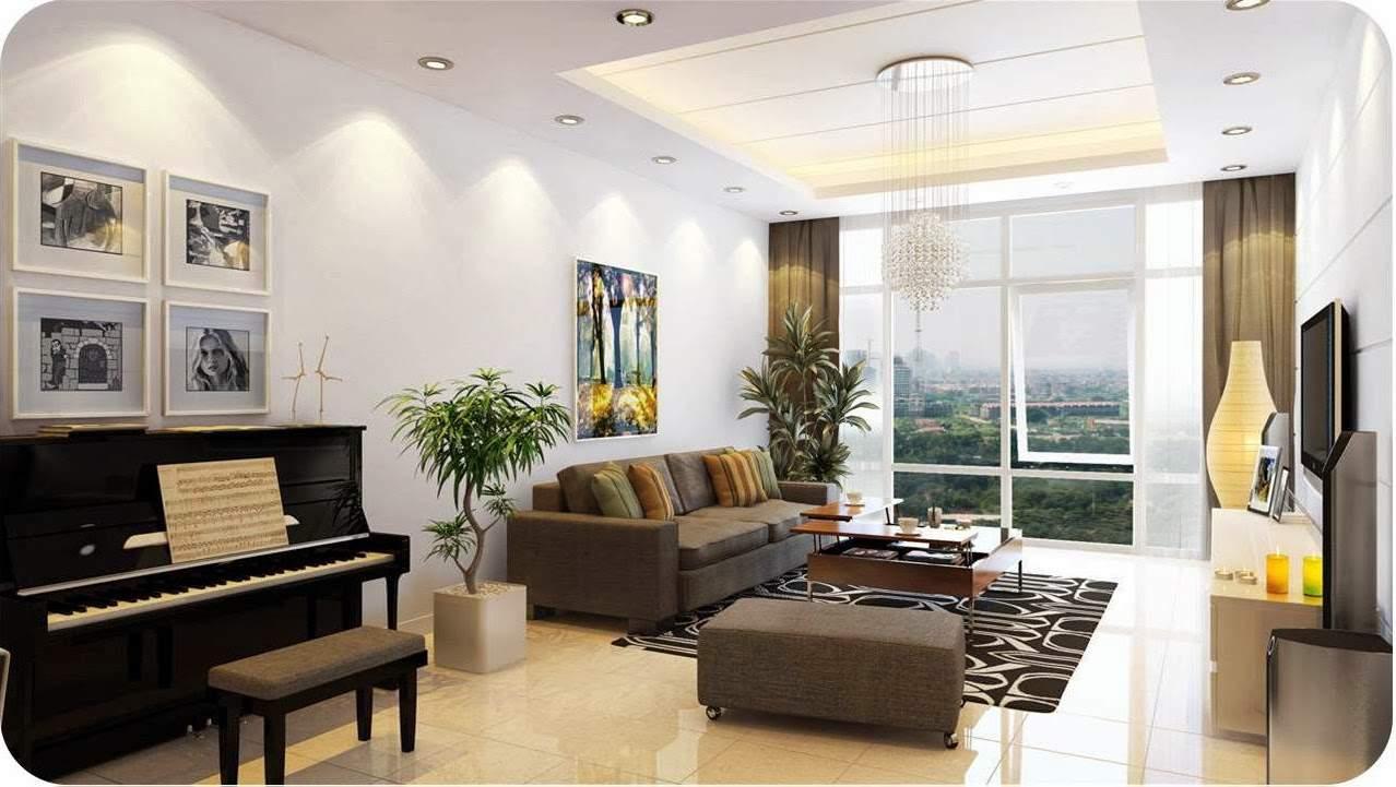 Phòng khách sang trọng, hiện đại cho nhà chung cư
