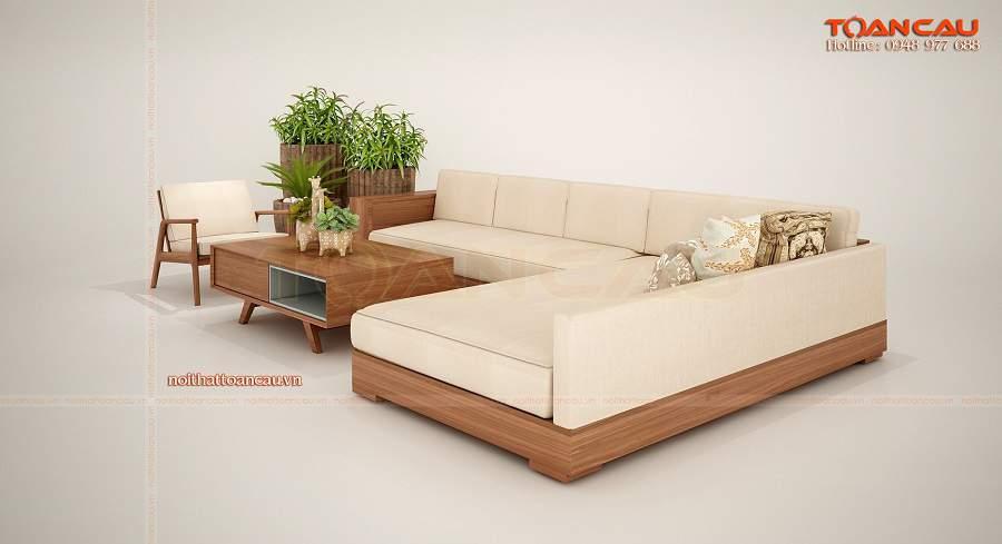 Bàn ghế gỗ cho chung cư nhỏ hiện đại
