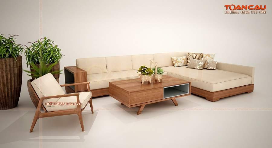 Mẫu ghế kết hợp giường ngủ gỗ đẹp và hiện đại