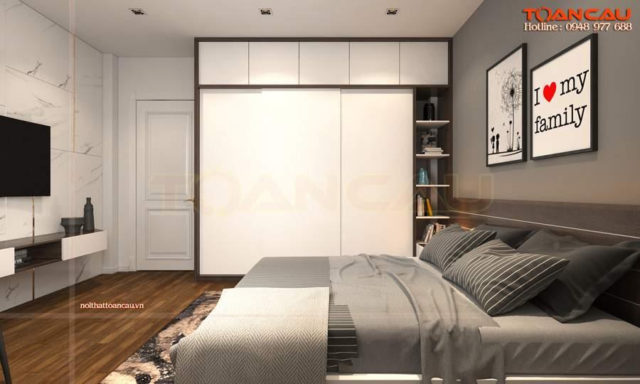 Thiết kế nội thất phòng ngủ nhỏ 10m2 nên sử dụng nội thất tối giản