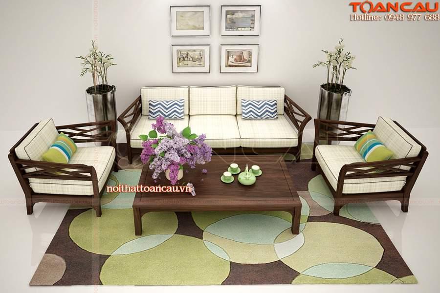 Mẫu bàn ghế nội thất phòng khách - TC139