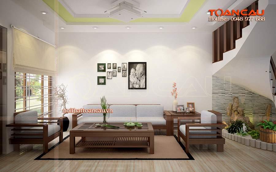 Mẫu bàn ghế nội thất phòng khách - TC127