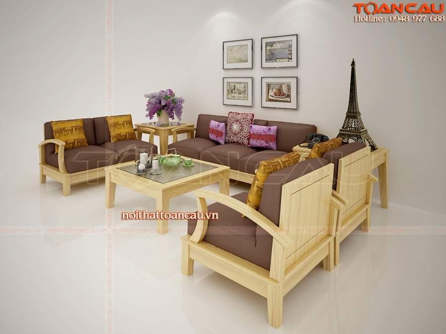 Mẫu bàn ghế nội thất phòng khách – TC102