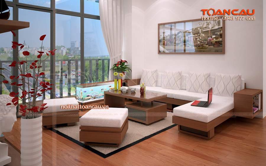 bàn ghế phòng khách phong cách hiện đại