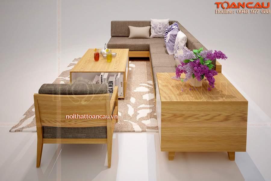 Mẫu bàn ghế đơn giản mà đẹp cho phòng khách nhỏ