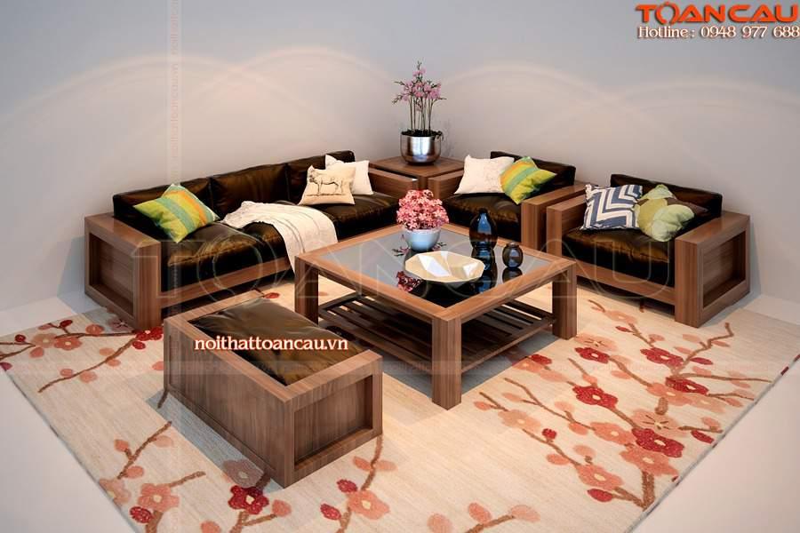 Mẫu bàn ghế nội thất phòng khách - TC142