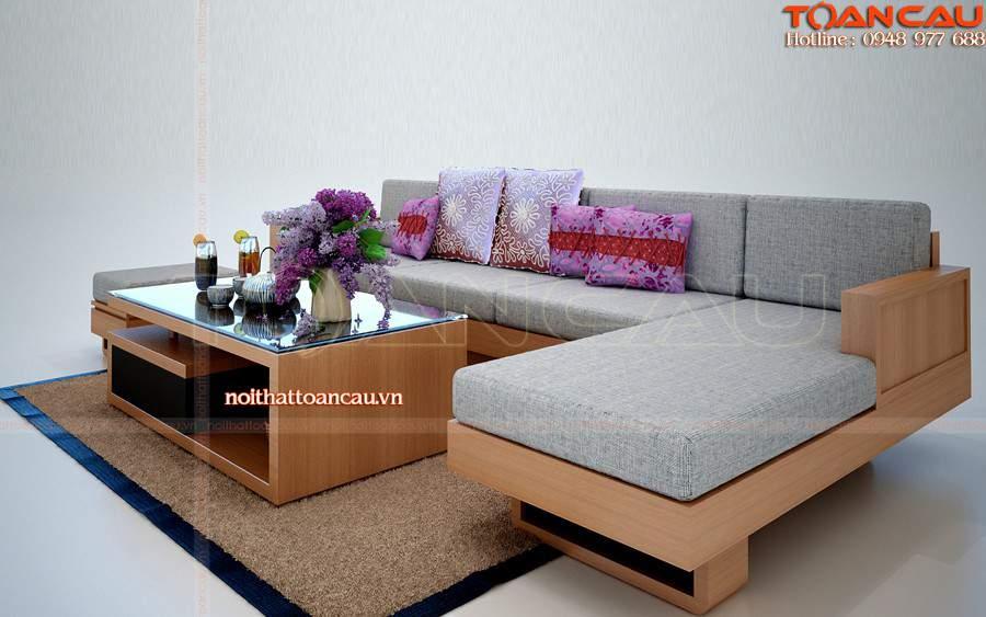 Sofa gỗ giá rẻ TC109