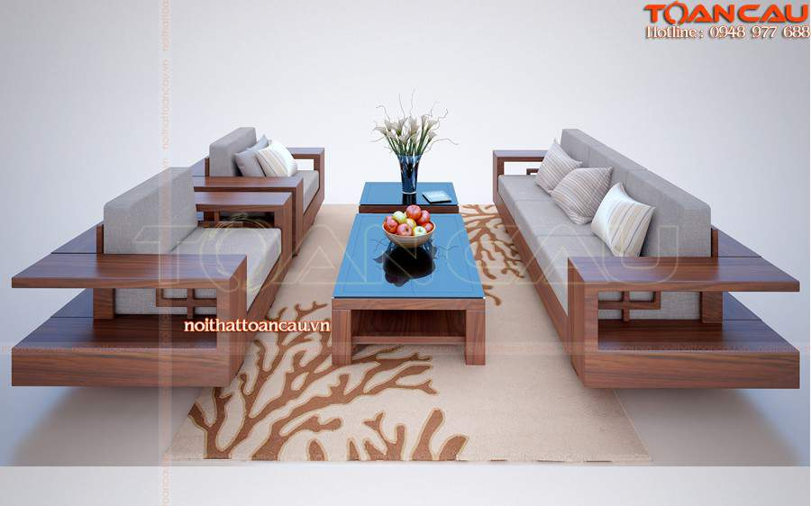 Mẫu bàn ghế gỗ mun - TC112