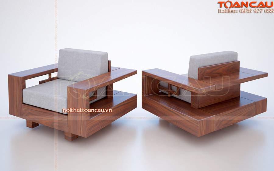 Ghế Sofa gỗ cao cấp, sang trọng và hiện đại nhất khi sử dụng