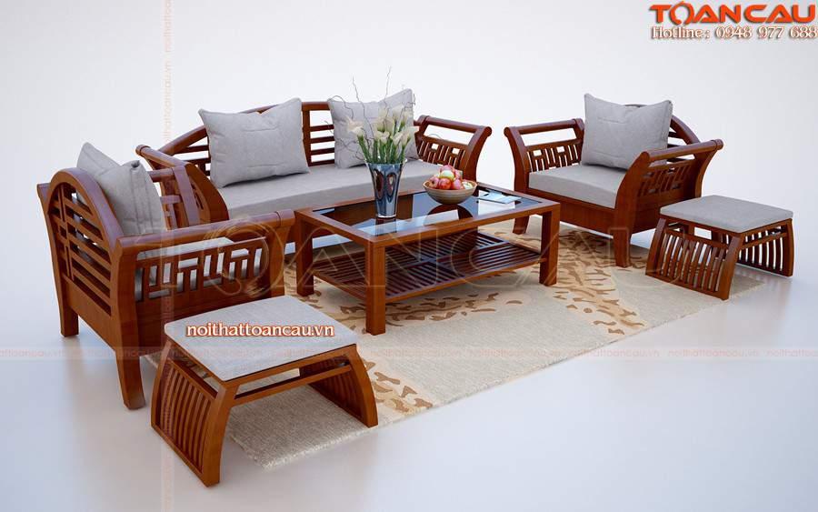 Bàn ghế gỗ tự nhiên cho nhà ấm áp