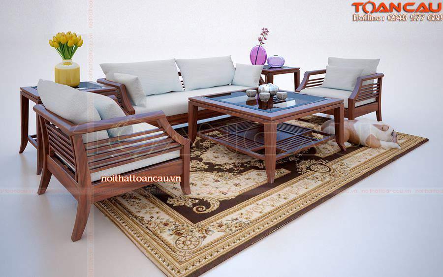 Mẫu bàn ghế nội thất phòng khách – TC106