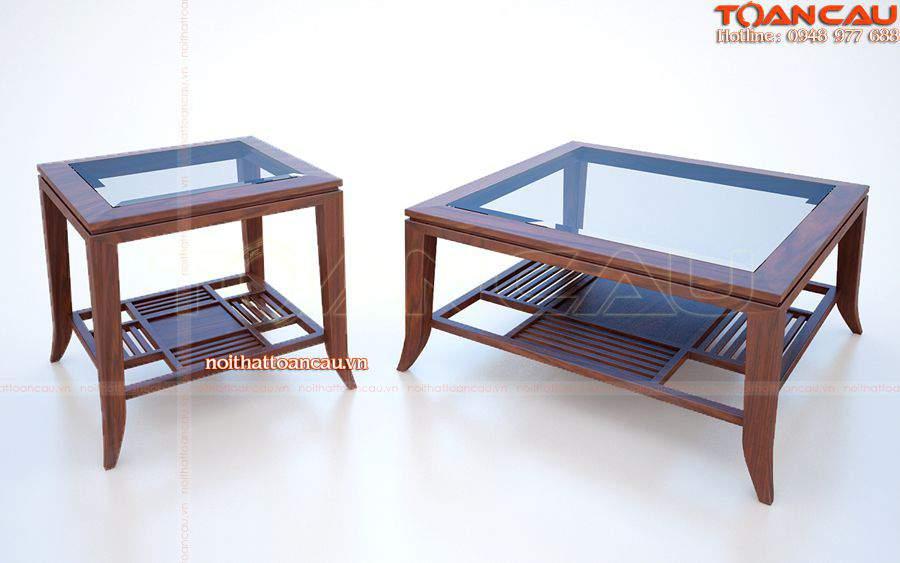 bán bàn ghế gỗ dùng cho phòng khách gia đình với giá rẻ tại Công ty Toàn Cầu