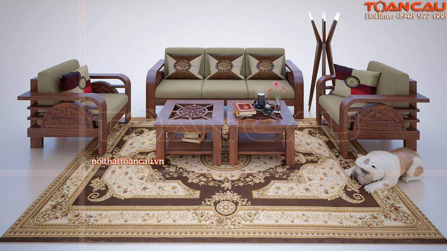 Mẫu bàn ghế nội thất phòng khách – TC105