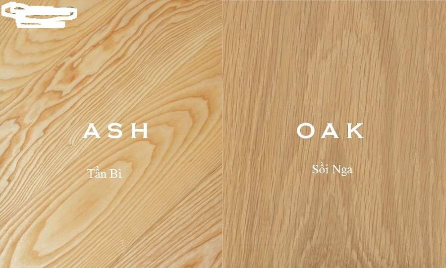 giá gỗ sồi nga và sồi mỹ