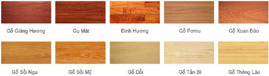 gỗ sồi nga có màu gì