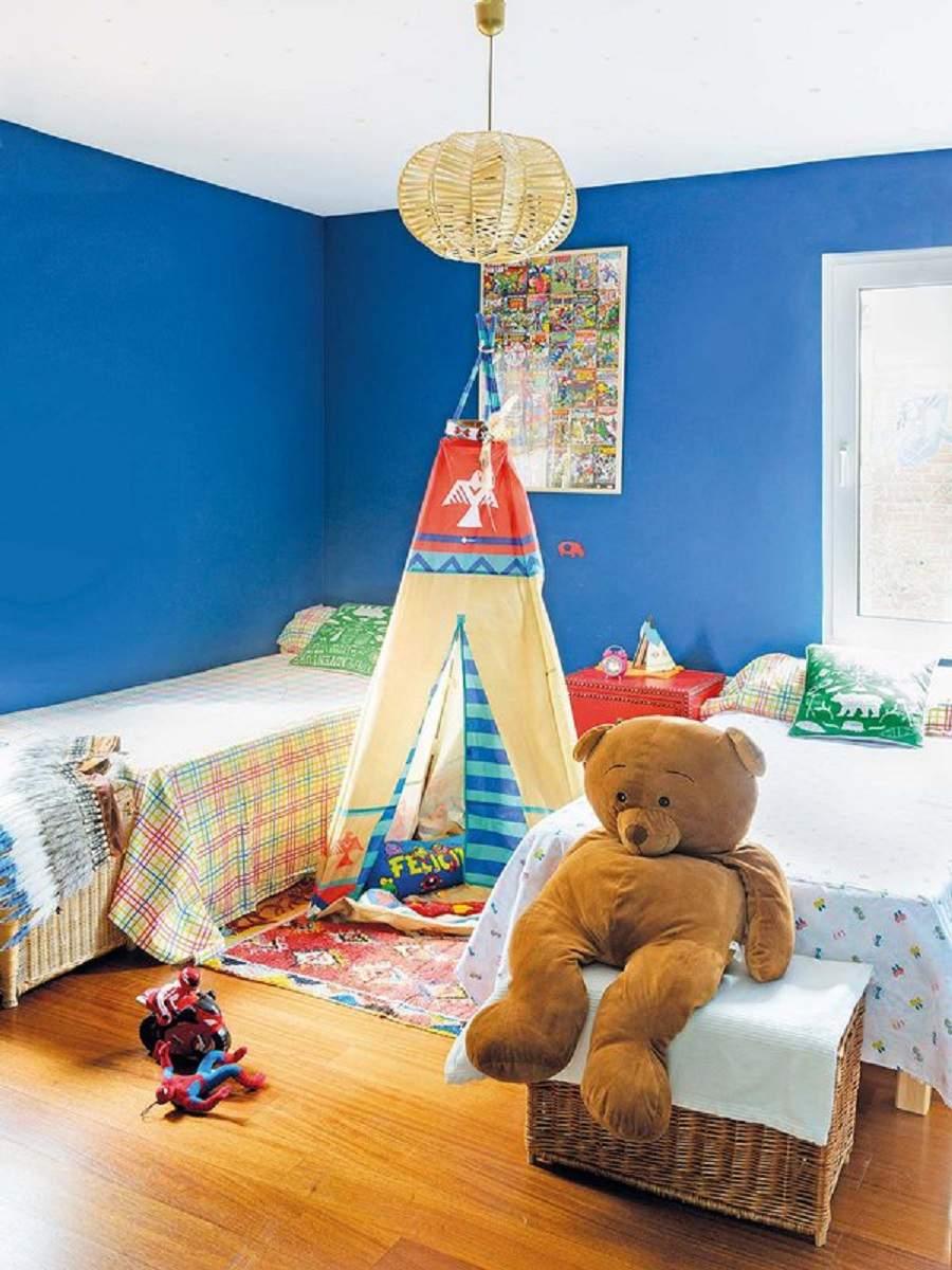Thiết kế căn hộ 90m2 3 phòng ngủ cho căn phòng ngủ của bé