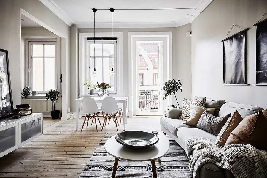 Thiết kế căn hộ 90m2 3 phòng ngủ phù hợp với mọi nhà