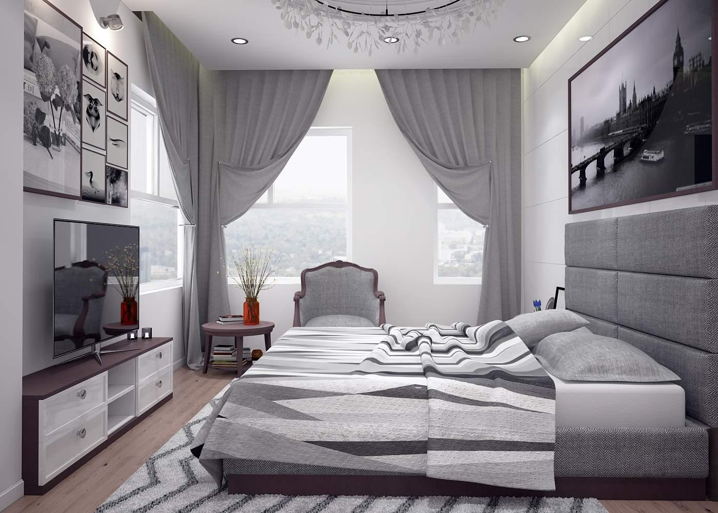 Nội thất phòng ngủ đẹp, tiện nghi